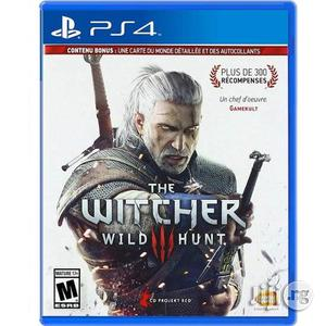Witcher 3 Ps4 Playstation 4 | Video Games for sale in Lagos State, Lekki