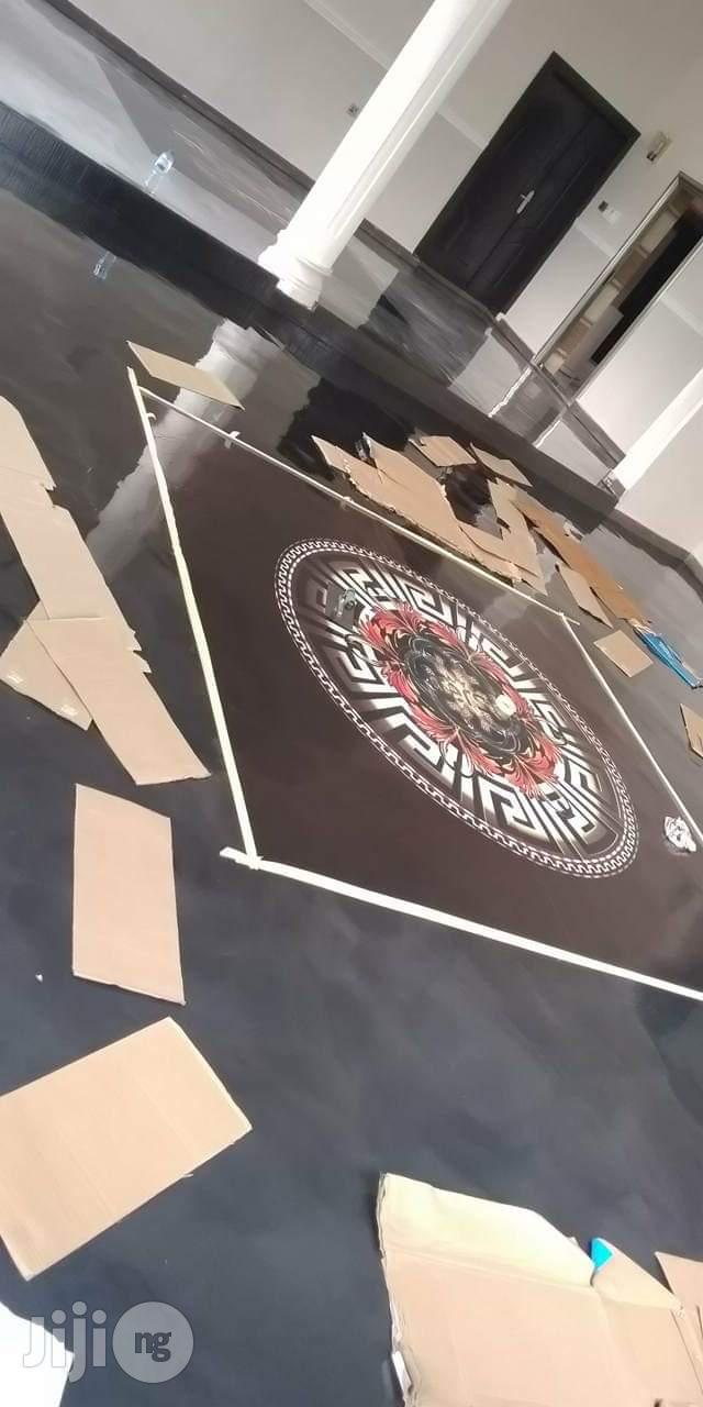 Aesthetic Epoxy Floor