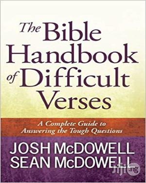 The Bible Handbook Of Difficult Verses   Books & Games for sale in Lagos State, Oshodi