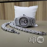 Patek Phillipe Watch, Hand Chain & Ring With Downsec- Silver   Watches for sale in Lagos State, Ikeja