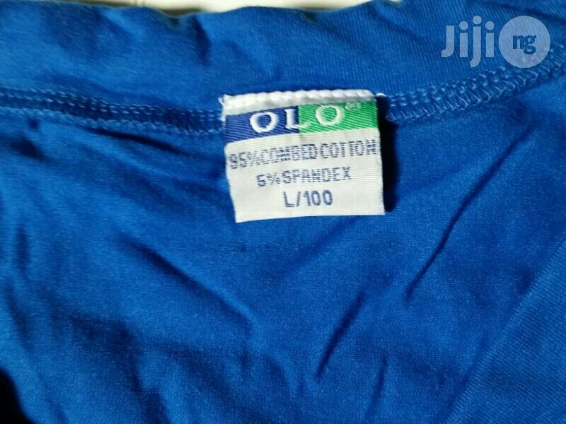 V Neck And Round Neck Olo Spandex Polo T-shirts | Clothing for sale in Lagos Island, Lagos State, Nigeria