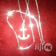 Original Italy 925 Pure Silver Necklace Blade With Anchor | Jewelry for sale in Lagos State, Lagos Island