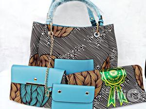 Quality Ankara Bag With 6yrds Wax And Purse On A Discount Price As A Bulk Buyer Xi | Bags for sale in Kaduna State, Kaduna / Kaduna State