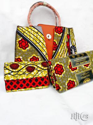 Quality Ankara Bag With 6yrds Wax And Purse On A Discount Price As A Bulk Buyer Xiv | Bags for sale in Kaduna State, Kaduna / Kaduna State