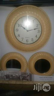 Wall Clock Mirror | Home Accessories for sale in Lagos State, Ajah