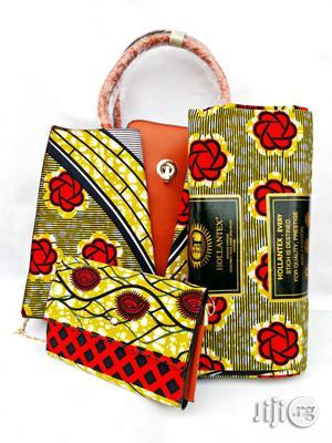 Quality Ankara Bag With 6yrds Wax And Purse On A Discount Price As A Bulk Buyer Xv | Bags for sale in Kaduna State, Kaduna / Kaduna State