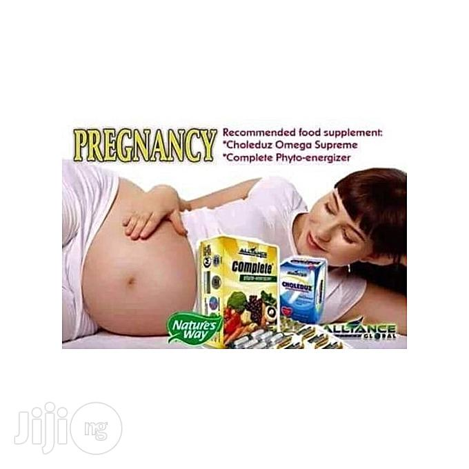 Alliance In Motion Global Pregnancy Food Supplement: Cholenduz And Complete Phyto-energizer