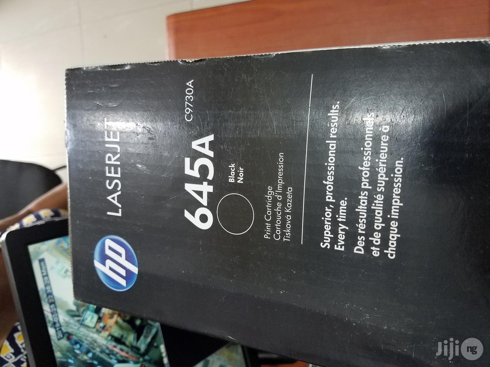 Archive: HP 645A Black Toner Cartridge