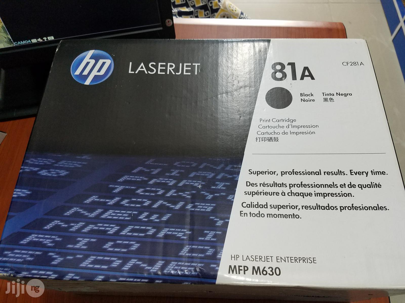 Archive: HP 81A Toner Cartridge