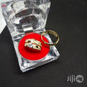 Angelina Scot Couples Set of Wedding Ring ASCEW S1 - Gold | Wedding Wear & Accessories for sale in Lagos State, Ikeja