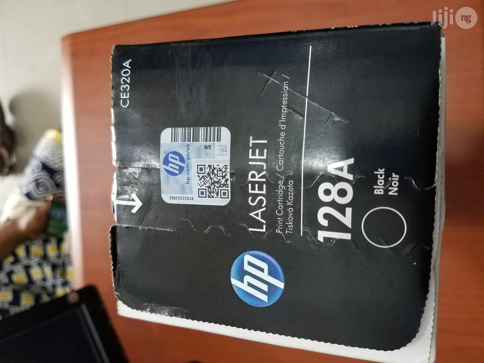 Archive: HP 128A Black Toner Cartridge