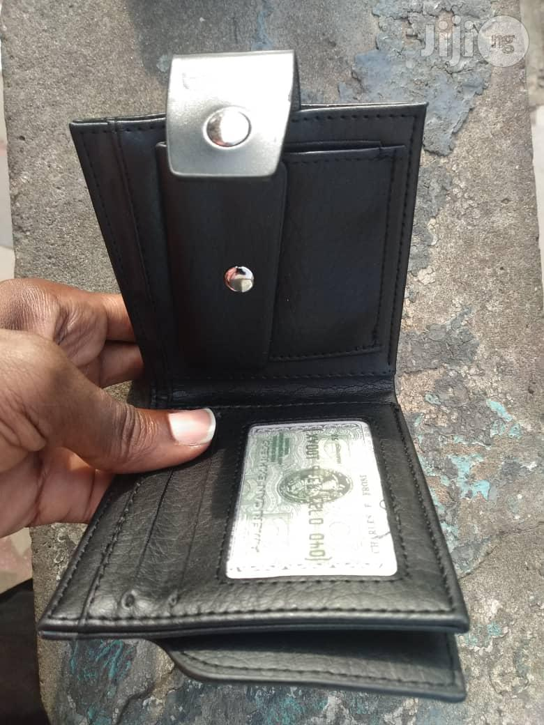 Leather Wallet Credit Card Wallet   Bags for sale in Oshodi, Lagos State, Nigeria