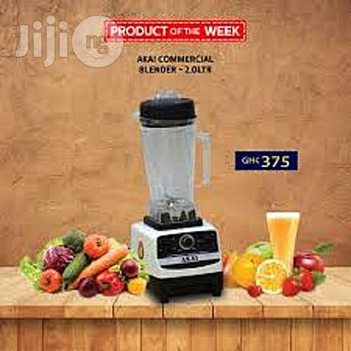 AKAI Heavy-Duty-Professional-Multi-Purpose Commercial Blender | Restaurant & Catering Equipment for sale in Central Business Dis, Abuja (FCT) State, Nigeria