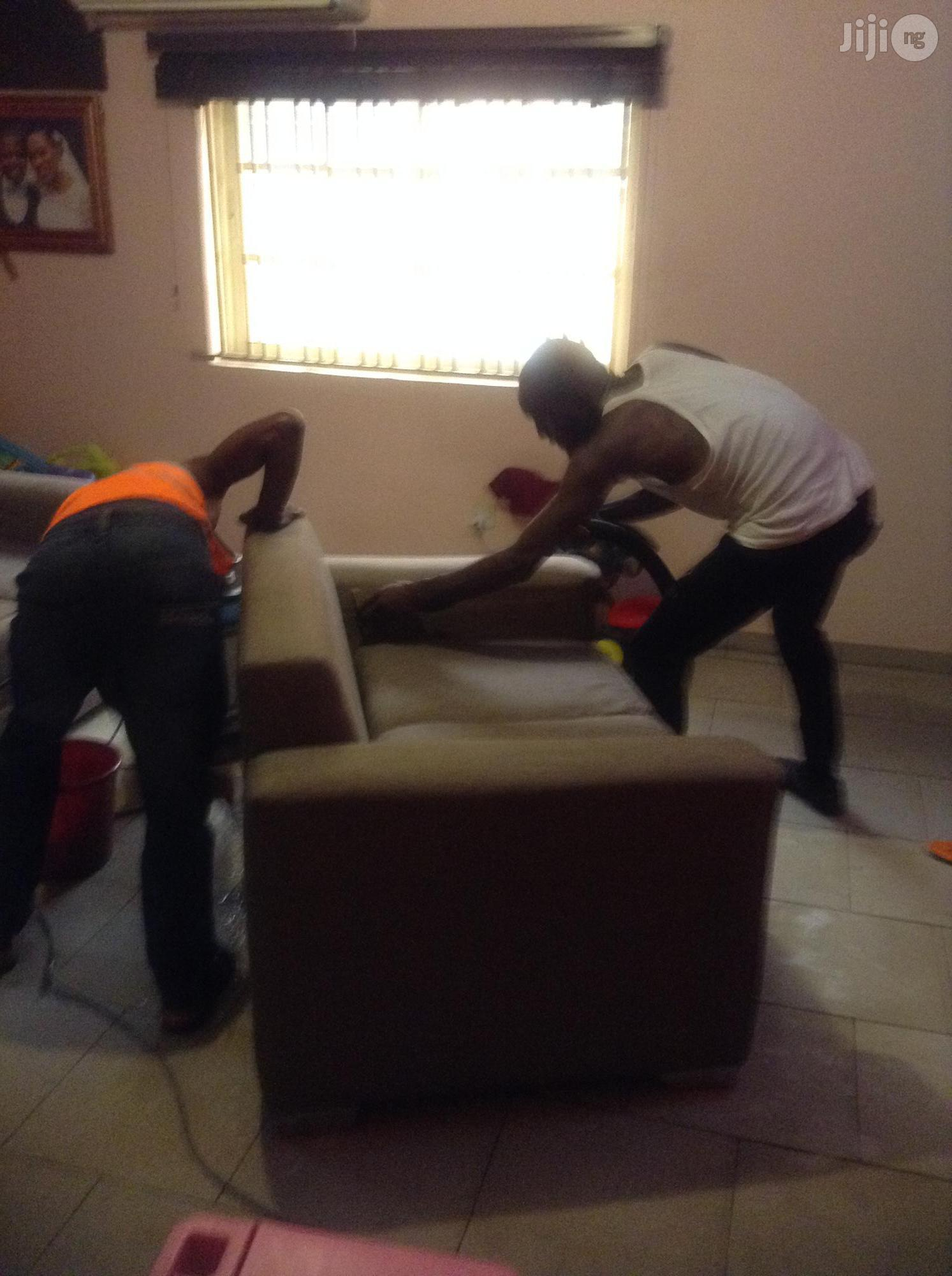 Fabrics Sofa Cleaning Services