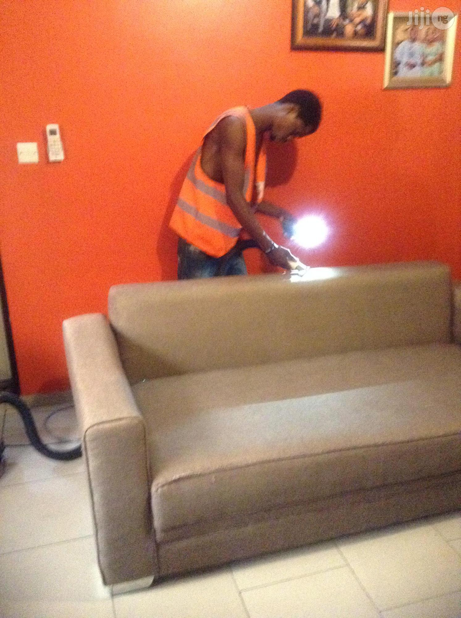 Fabrics Sofa Cleaning Services | Cleaning Services for sale in Ikeja, Lagos State, Nigeria