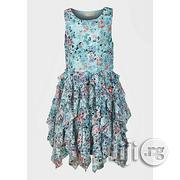 Kohl's Girls Floral Lacy Dress - Aqua. Ages 7-8 and 12 | Children's Clothing for sale in Lagos State, Shomolu