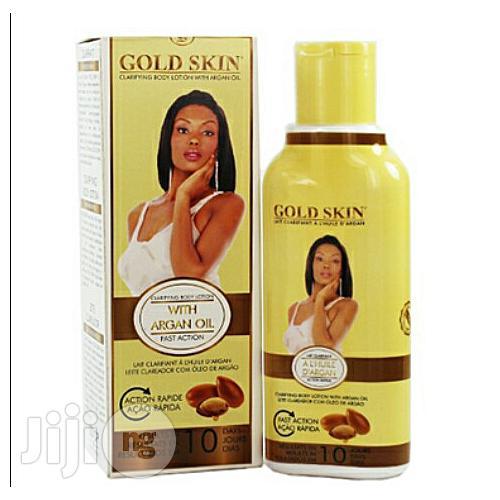 Sivop Gold Skin Clarifying Body Lotion With Argan Oil 250ml