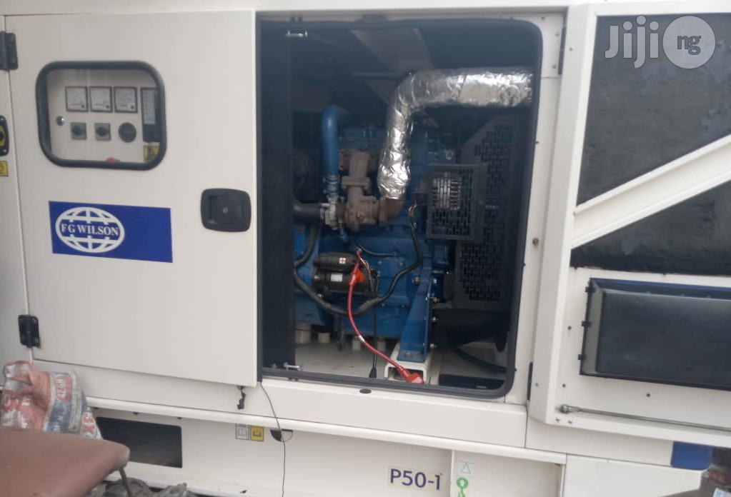 UK Used Pure Tokurnbo 50kva FG Wilson Perkins Soundproof Generator For Sale   Electrical Equipment for sale in Lagos State, Nigeria