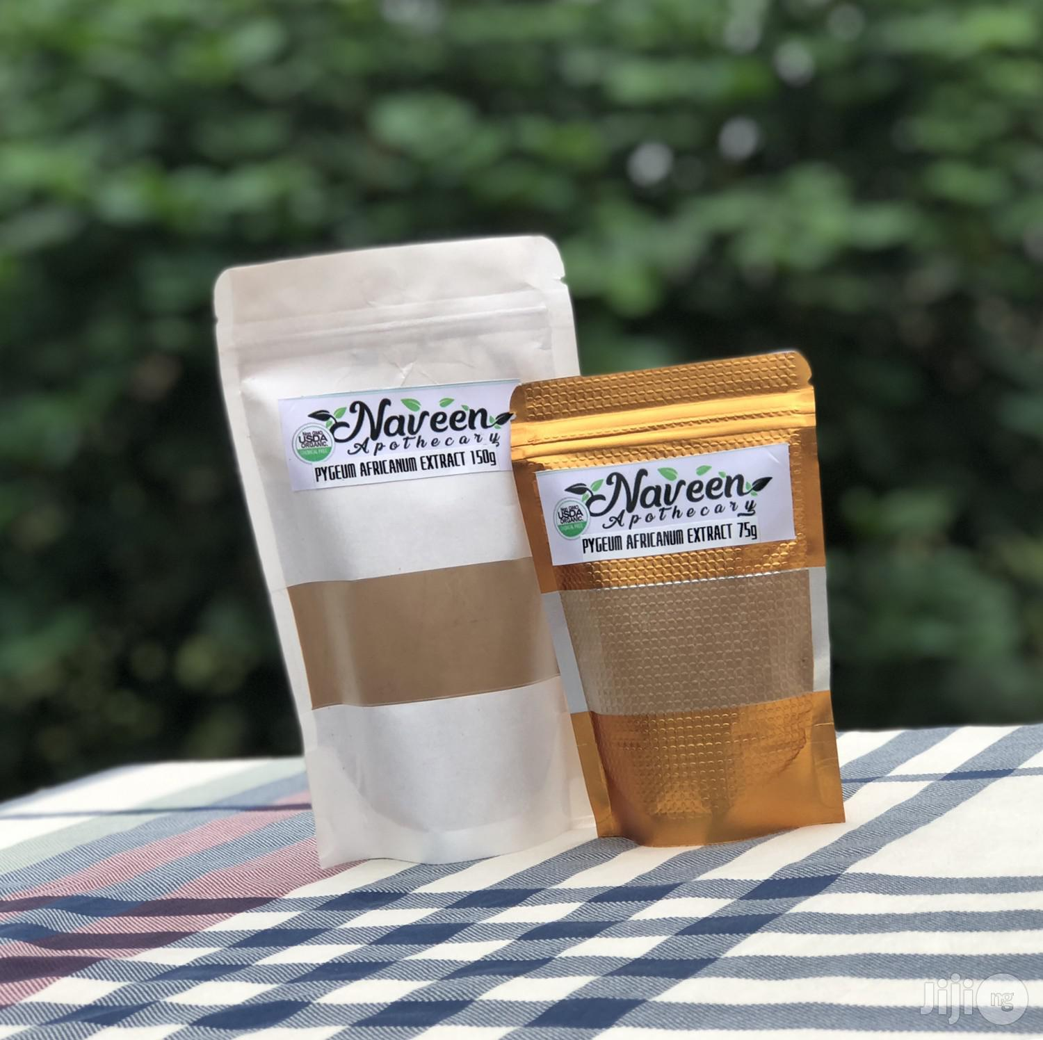 Pygeum Africana Extract Powder | Vitamins & Supplements for sale in Uyo, Akwa Ibom State, Nigeria