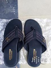 Louis Vuitton Black Slide ( Slippers) | Shoes for sale in Rivers State, Port-Harcourt