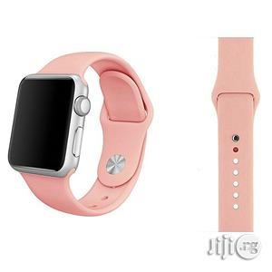 38mm And 42mm Silicone Replacement Band For Iwatch | Smart Watches & Trackers for sale in Lagos State, Ikeja