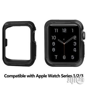 Soft Silicone Watch Case Protector For Apple Watch Series 3/2/1 | Smart Watches & Trackers for sale in Ikeja, Lagos State, Nigeria