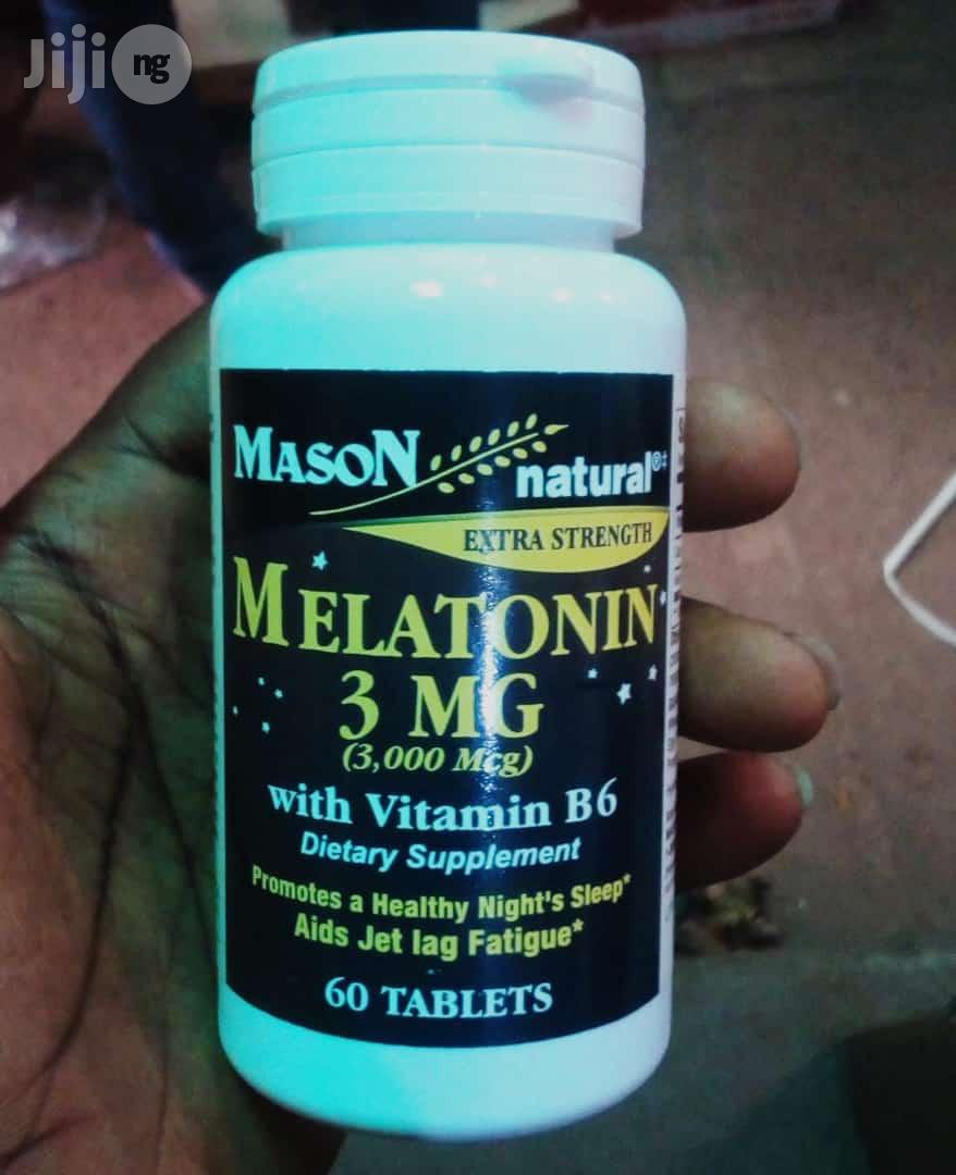 Melatonin With Vitamin B6 From Mason Natural | Vitamins & Supplements for sale in Ubiaja, Edo State, Nigeria