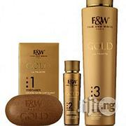 Fair White Gold Rejuvenating Moisture Lotion + Soap + Serum | Bath & Body for sale in Lagos State, Ojo