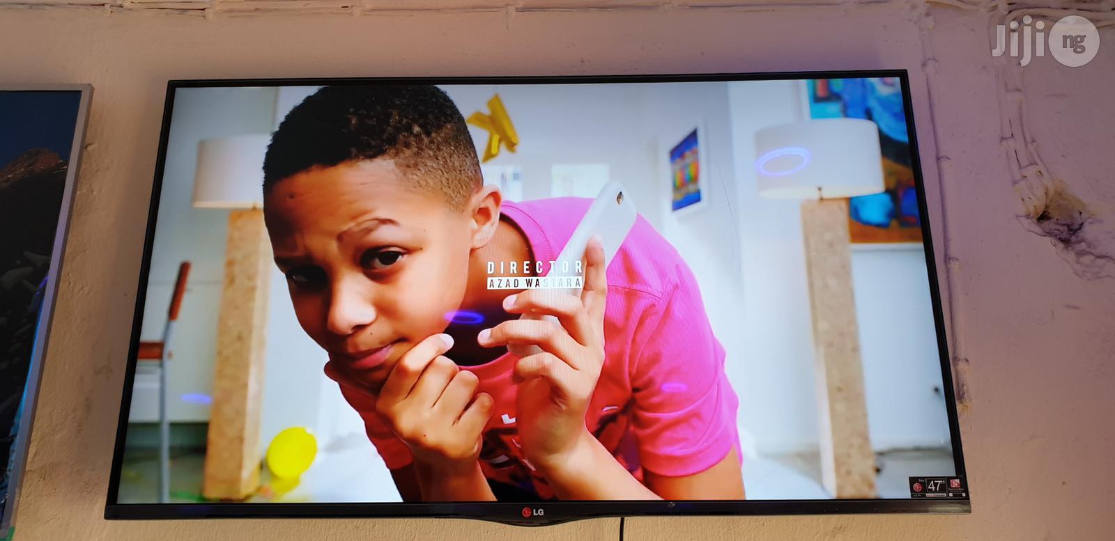 "LG Smart Full HD Led 3D Tv 47 """