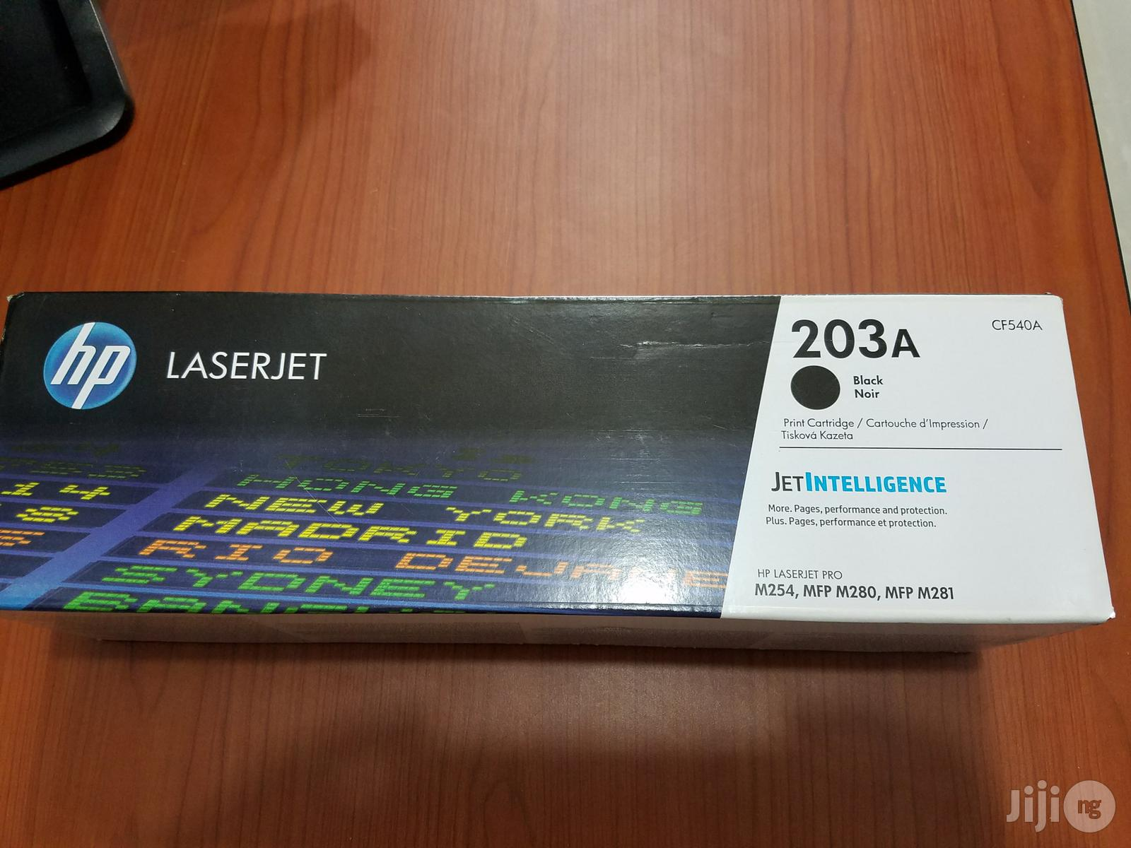 HP 203A Black Toner Cartridge | Accessories & Supplies for Electronics for sale in Ikeja, Lagos State, Nigeria
