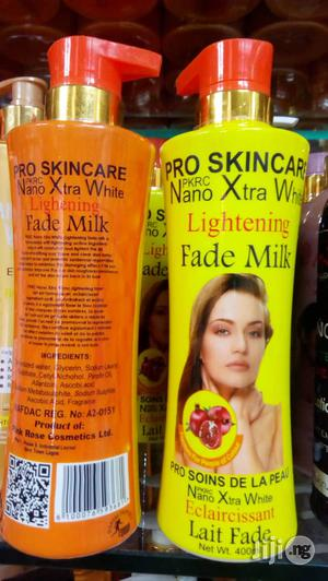 Nano Xtra White Lightening Fade Milk -400ml   Skin Care for sale in Lagos State