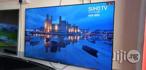 55 Inches SUHD QUANTUM DOT HDR Samsung Smart Led Tv   TV & DVD Equipment for sale in Lagos State, Ojo
