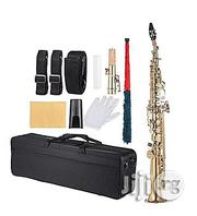 Premier Premier Straight Soprano Saxophone (With Complete Accessories) | Musical Instruments & Gear for sale in Ekiti State, Ilawe