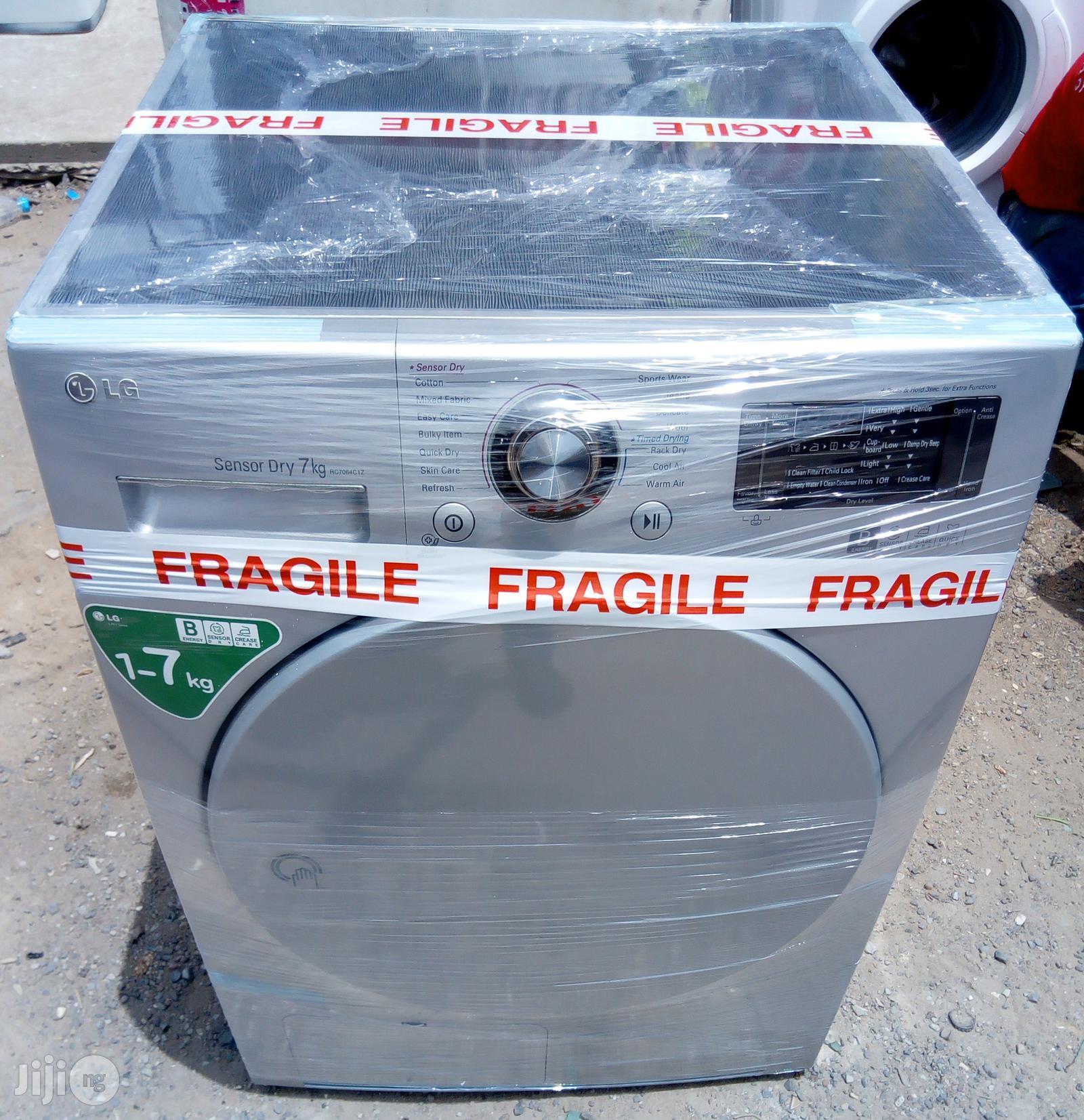 LG 7kg Sensor Dryer   Home Appliances for sale in Lagos State, Nigeria