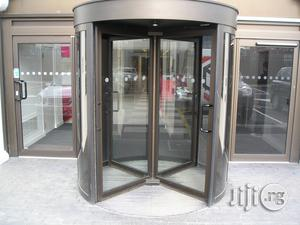 Installation Of Automatic Revolving Door System   Building & Trades Services for sale in Rivers State, Port-Harcourt