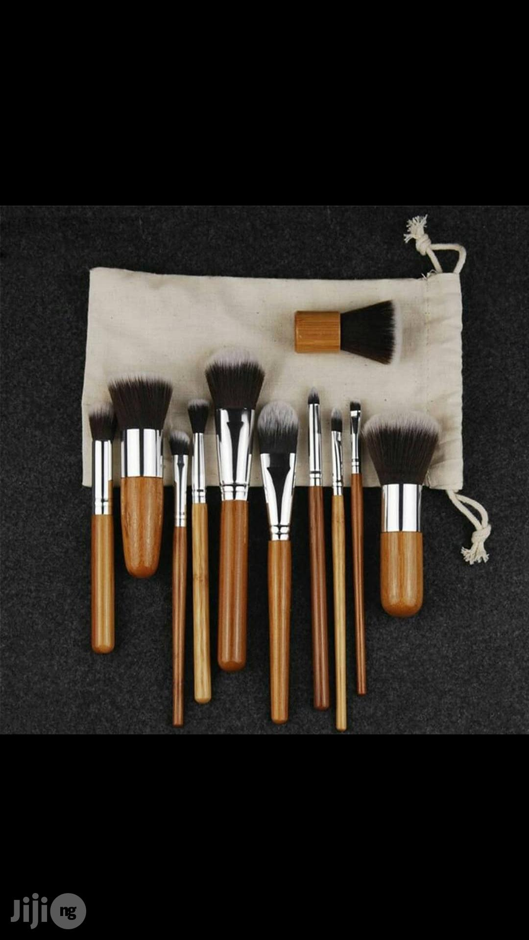 Bamboo Set Of Brush | Makeup for sale in Lagos State, Nigeria