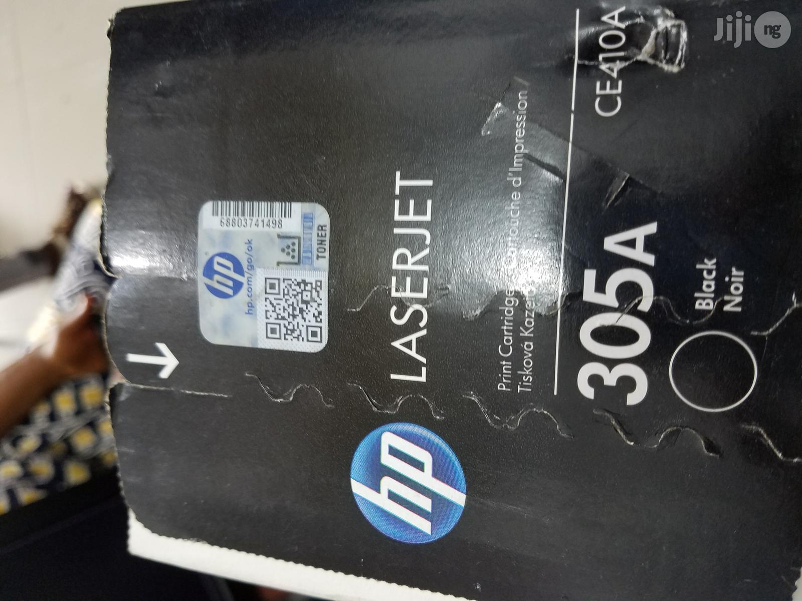 Archive: HP 305A Black Toner Cartridge