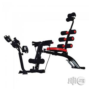 Six Pack Care With Paddler/Desk Exerciser | Sports Equipment for sale in Rivers State, Port-Harcourt