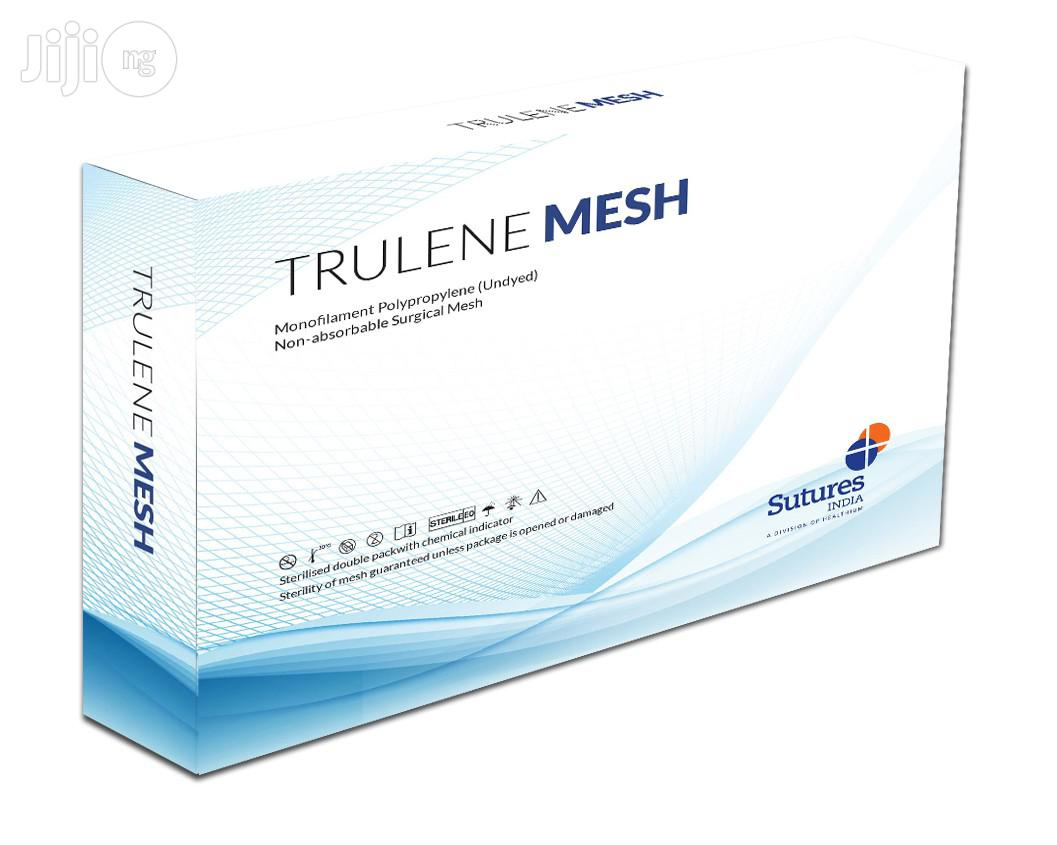 Trulene Mesh Mono-filament Polypropylene Non-absorbable Surgical Mesh - 1 Sheet | Medical Equipment for sale in Yaba, Lagos State, Nigeria