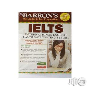 Barron's IELTS With MP3 CD, 5th Edition   Books & Games for sale in Lagos State, Oshodi