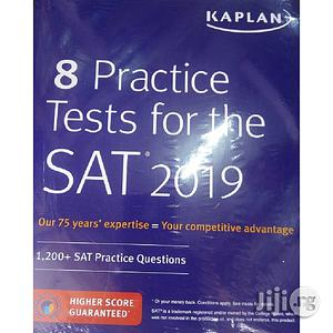8 Practice Tests For The SAT 2019: 1,200+ SAT Practice Questions | Books & Games for sale in Lagos State, Oshodi