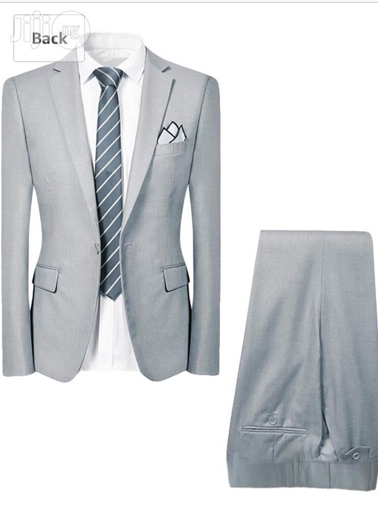 Archive: Mens Smart 2 Piece Suit Slim Fit Dinner Wedding Tuxedo Suits