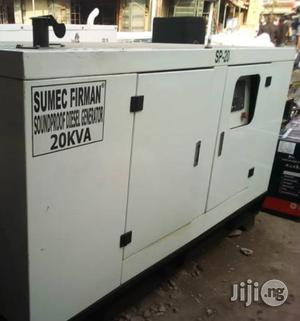 Brand New 20kva Sumec Sound Proof DIESEL Generator 100% Coppa Coil | Electrical Equipment for sale in Lagos State, Ojo