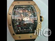 Black and Gold Face Richard Mille Authentic Men's Watch | Watches for sale in Lagos State, Lagos Island