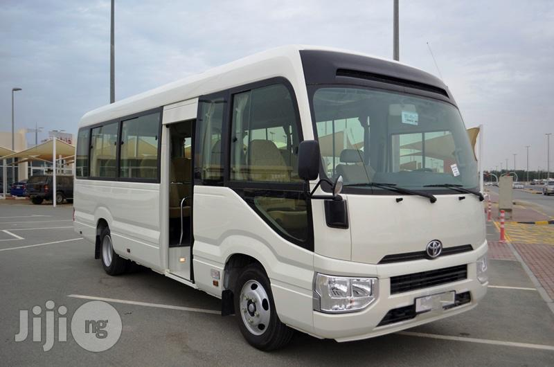 New Toyota Coaster 2019 White | Buses & Microbuses for sale in Ikeja, Lagos State, Nigeria