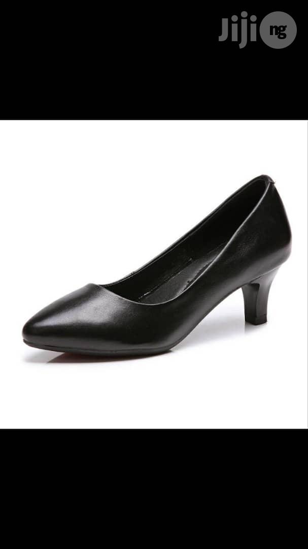 Archive: Fashion Genuine Leather Women Shoes-Block Heel