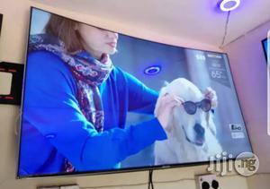 "65""Massive Razor Samsung Smart Premium UHD 4K HDR Curved Tv   TV & DVD Equipment for sale in Lagos State, Ojo"