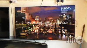 "Samsung Suhd 4K Quantum Dot Hdr 1000 Smart LED TV 55"" | TV & DVD Equipment for sale in Lagos State, Ojo"