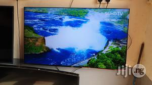 "Samsung Suhd 4K Quantum Dot Hdr 1000 Smart LED TV 55""   TV & DVD Equipment for sale in Lagos State, Ojo"