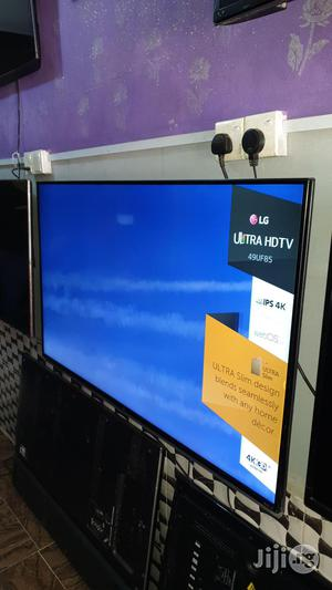 LG Smart Webo's Uhd 4K LED TV 49 Inches | TV & DVD Equipment for sale in Lagos State, Ojo